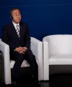 Ban Ki-Moon at III Fórum Mundial Aliança das Civilizações