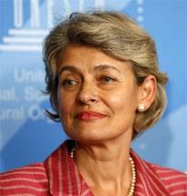 Incumbent UNESCO Director General Irina Bokova