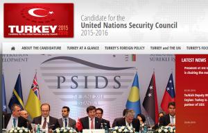 Turkey's candidacy website