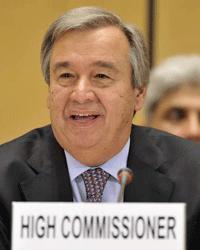 António Guterres, current UNHCR