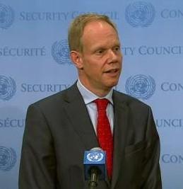 United Kingdom Ambassador Matthew Rycroft (Photo: UN WebTV)