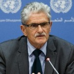 press conference with mogens lykketoft